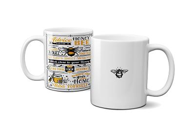 11 oz Bee Inspired Mugs