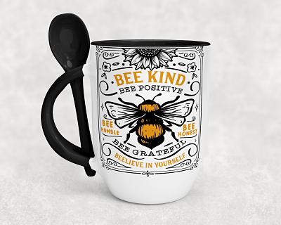 Bee Inspired Spoon Mugs