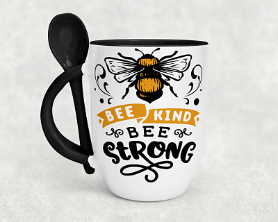Be Kind Be Strong Be Spoon Mug